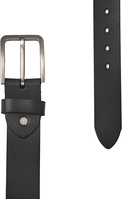 Youjoy Cintur/ón de cuero para hombres pulgadas de ancho 3.8 cm cl/ásico cintur/ón Jean para hombres 1.5