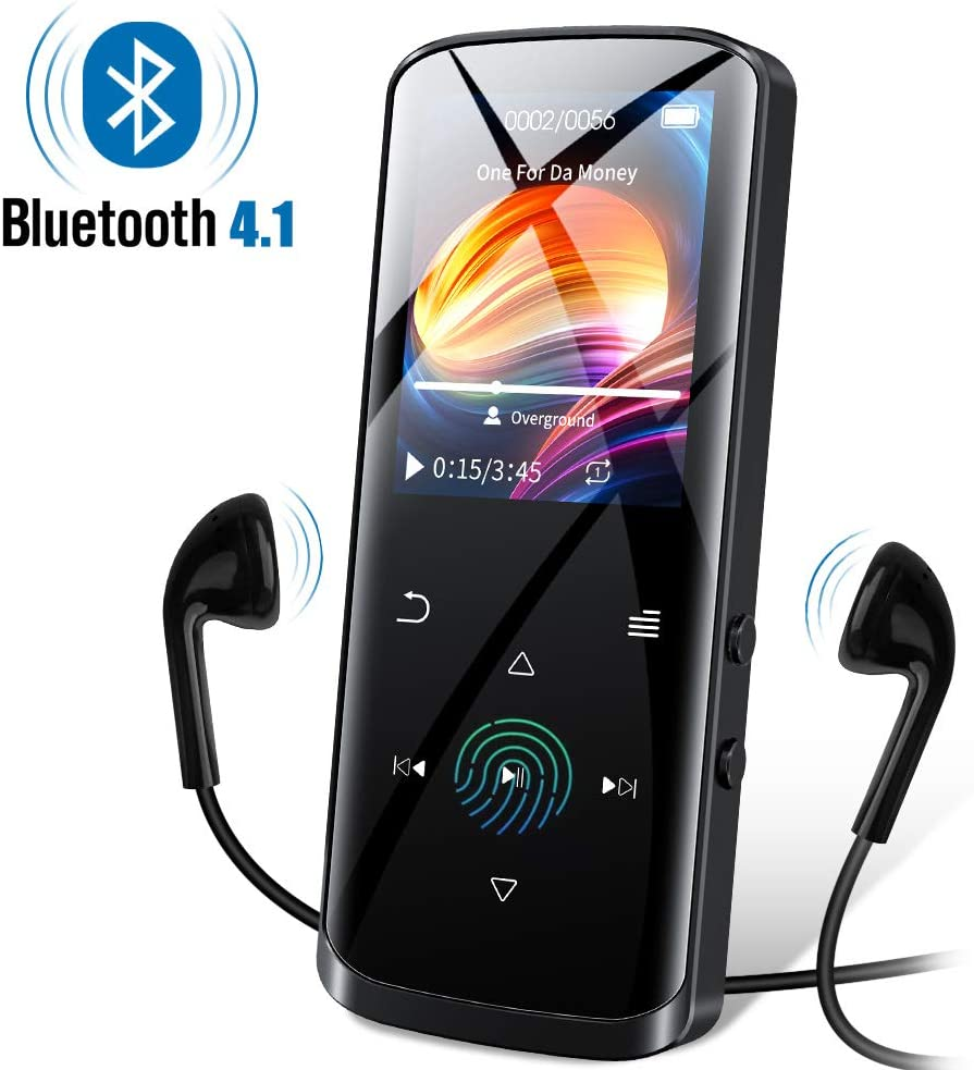 RUIZU Mp3 Player with Bluetooth, Built-in Speaker