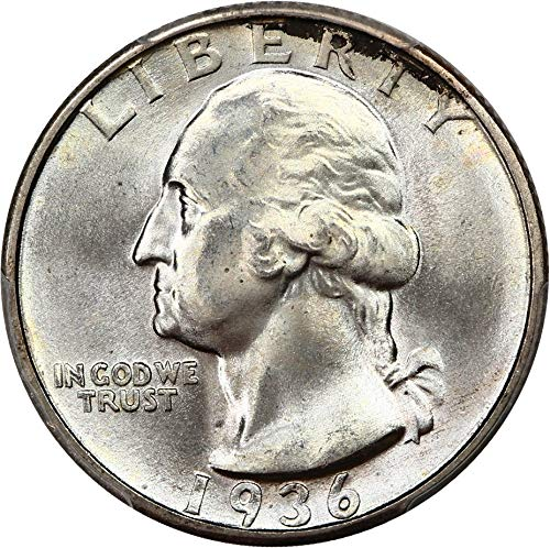 1936 P Washington Quarters (1932-98) Quarter MS67 PCGS