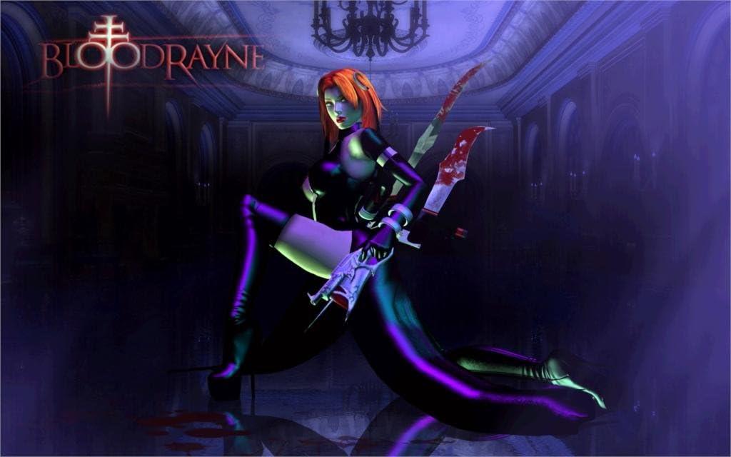 Amazon Com Da Bang Bloodrayne Game Girl Vampire Red Hair Latex
