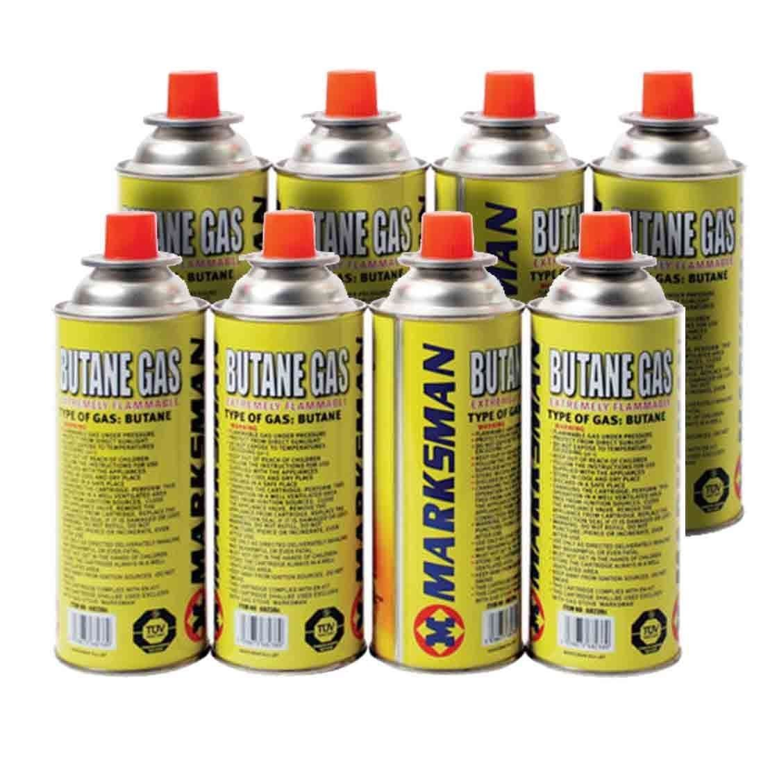 NEW BUTANE GAS BOTTLES CANISTERS FOR COOKER HEATER BBQ CAMPING REFILLS CANS 4PK ASAB LEUKBALG8889