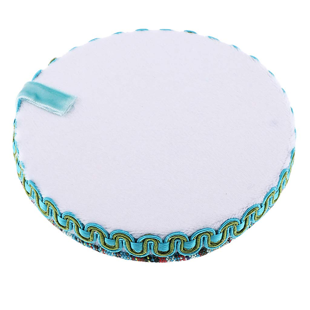 Prettyia Wooden and Fabric Protective Bead Beading Mat Board Tray for Sewing Embroidery Needlecraft Avoid Beads Rolling Off