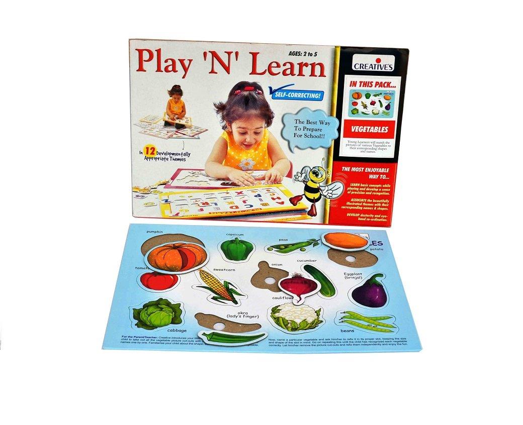 Gioco educativo Creativo per Imparare Le Verdure.