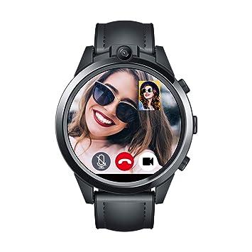 OOLIFENG Reloj Inteligente GPS 4G para Mujer Hombre Bluetooth ...