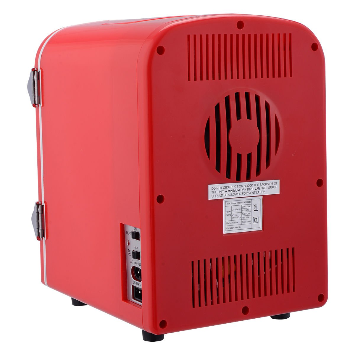 Amazon.com: Giantex Portable Mini Fridge Cooler And Warmer Auto Car Boat  Home Office AC U0026 DC Red: Kitchen U0026 Dining