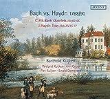 C.P.E. Bach: Quartets Wq 93-95; Haydn: Trios Hob XV:15-17