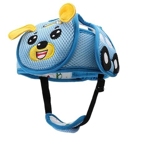 Homyl Tapón Casco de Seguridad de Niños Juegos de Construcción Muñecas Accesorios - Bue perro,