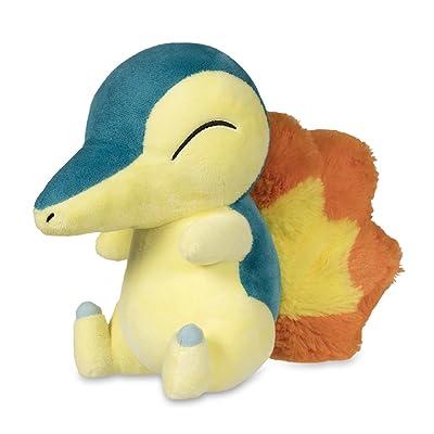 Pokémon POKÉ Plush Standard Cyndaquil: Toys & Games