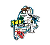 Maine State Jumbo Map Magnet