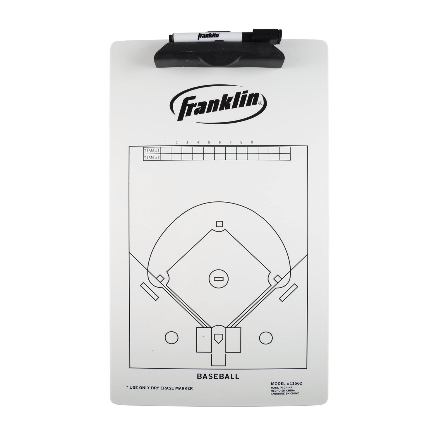 Marker Boards Franklin Sports MLB Coaches Clipboard 1567