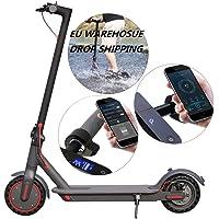 350 W elektrisk e-scooter med kraftfull batteri och scootermotor, lätt och vikbar för vuxna och tonåringar med kraftfull…