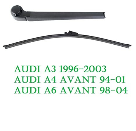 Audi Aero Disco de limpiaparabrisas trasero Set Audi A3 A4 B5 A6 ...
