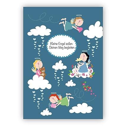 Bonita tarjeta de bautizo, tarjeta de felicitación por ...