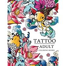 Tattoo Adult coloring books