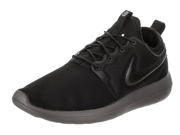 Nike Roshe Two Sneakers Herren Schwarz mit schwarzem Streifen
