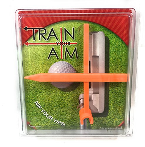Train Your Aim Golf Putter Face Alignment Training Aid (Alignment Putter)