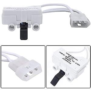 PS346704 ( 3406107 ) Dryer Door Switch For Whirlpool, Kenmore Dryers AP6008561