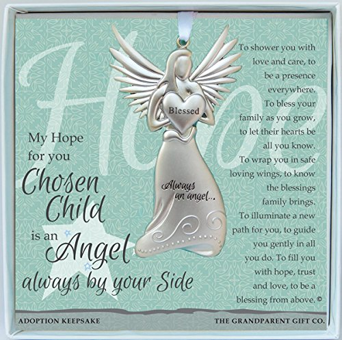 Always an Angel Adoption Chosen Child Keepsake Gift / Ornament