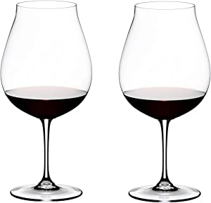 Riedel Vinum Pinot Noir Glass, Set of 2, Clear