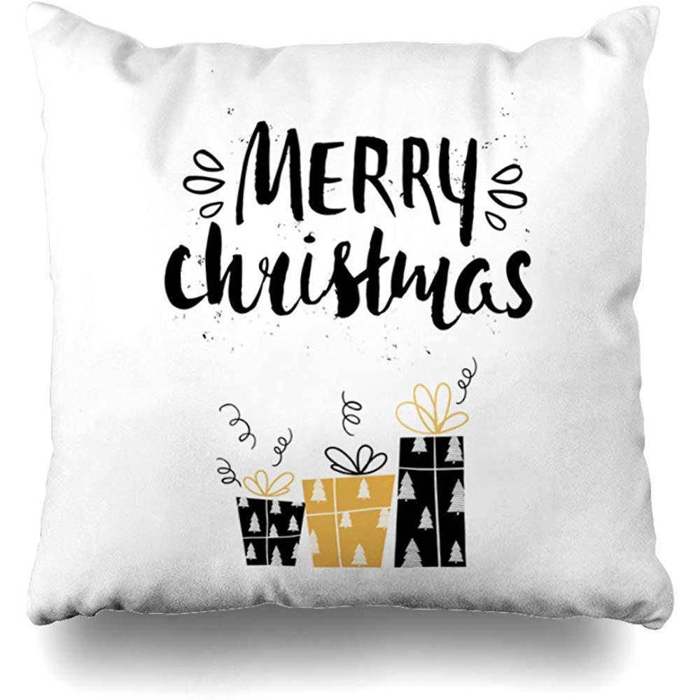 NEWcolor ソファ ホームデコ 枕 コットン 枕 スロー 枕カバー 装飾 18×18インチ  Pic16 B07S4HYKTG