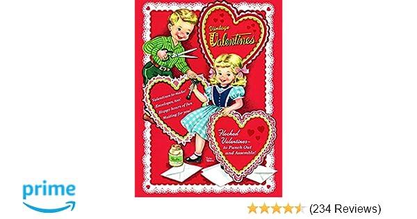 on sale 438a7 0f76c Vintage Valentines (Press Out Book)  Golden Books  9780375875144   Amazon.com  Books