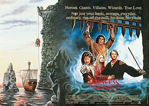 Princess Bride Movie Poster 23 inch by 35 inch