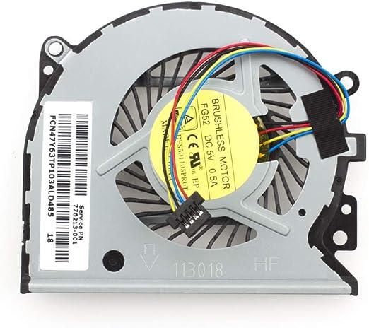 Aoofit 779598-001 - Ventilador de Repuesto para Ordenador portátil HP Pavilion 13-A010dx X360 Envy 15-u 15-u100ng 15-u110dx 15-U111DX 15-U005TX 5-U011D 15-u010dx 15-u483cl Series: Amazon.es: Electrónica