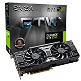EVGA GeForce GTX 1060 6GB FTW+ GAMING ACX 3.0, 6GB GDDR5, LED, DX12 OSD Support (PXOC) Graphics Card 06G-P4-6368-KR