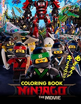 The NINJAGO MOVIE Coloring Book: Great Activity Book for Kids