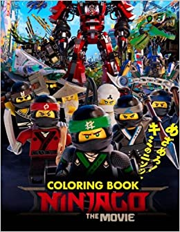 The NINJAGO MOVIE Coloring Book Great Activity For Kids Mr Lego 9781977967787 Amazon Books