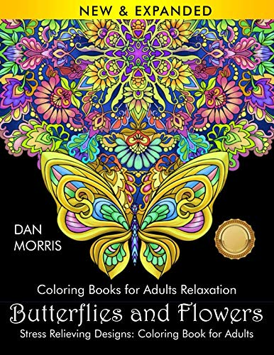 Top mandala coloring books for adults nature for 2019