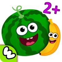 Funny Food - Educational Baby Game for Kids: Girls and Boys learn smart SHAPES &...