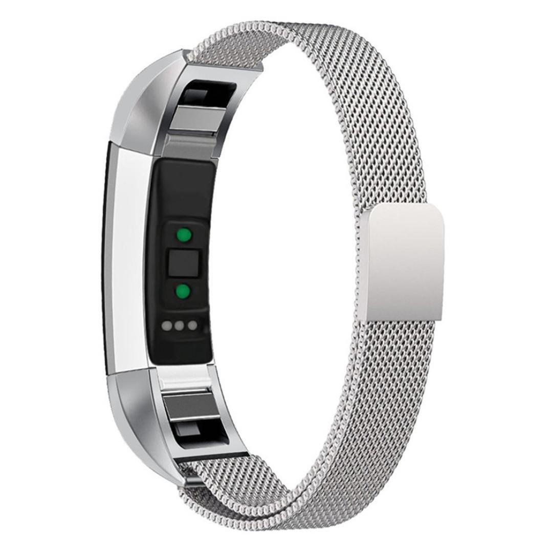 inverlee Milanese磁気tainless Steel Steel Watchバンド手首ストラップfor B0796NSLYF Fitbit ALTA Fitbit HR シルバー B0796NSLYF, 清川村:99ef3a31 --- arvoreazul.com.br