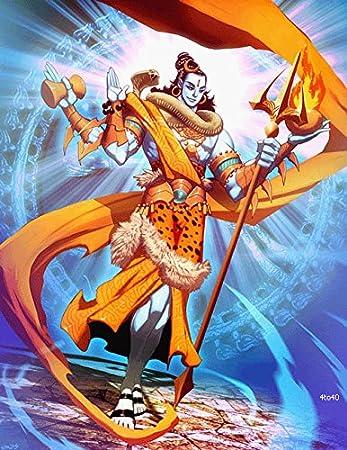 MAHALAXMI ART Gods Mahadev Om Namah Shivay Hd Wallpaper Poster (Fine Art Paper, Multicolour): Amazon.in: Home & Kitchen