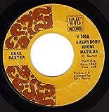 Everybody Knows Matilda/I Ain't No School Boy (VG 45 rpm)