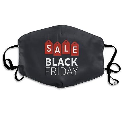 1da7231912fb Amazon.com: Unisex Mouth Mask Black Friday Sale Adjustable Anti Dust ...