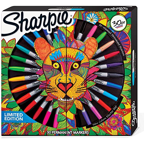 sharpie-limited-edition-30-count-permanent-markers-6-ultra-fine-18-fine-and-6-re-released-fine