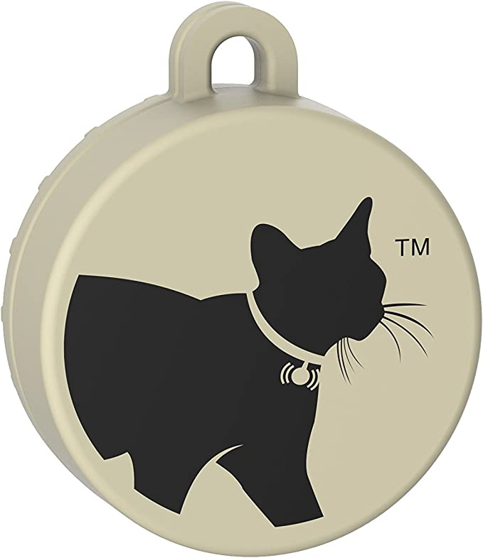 Tabcat Cat Tracking Collar Tabcat Pet Tracking Cat Collar Tracker System Includes 2 Tags 1 Pack Black Teal Grey