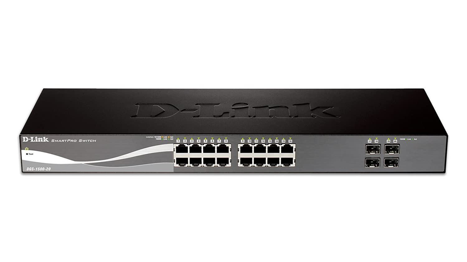 D Link Systems Inc Smartpro Layer 3 Switch Dgs 1500 How To Configure Intervlan Routing On Switches Cisco 20 Computers Accessories