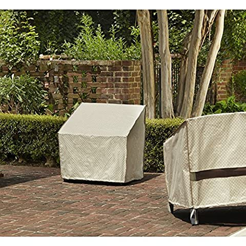 allen + roth Tan Conversation Chair Cover (Allen Roth Covers)