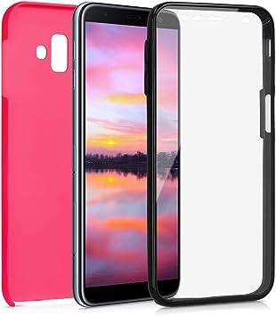 kwmobile Funda 360° Compatible con Samsung Galaxy J6+ / J6 Plus DUOS: Amazon.es: Electrónica