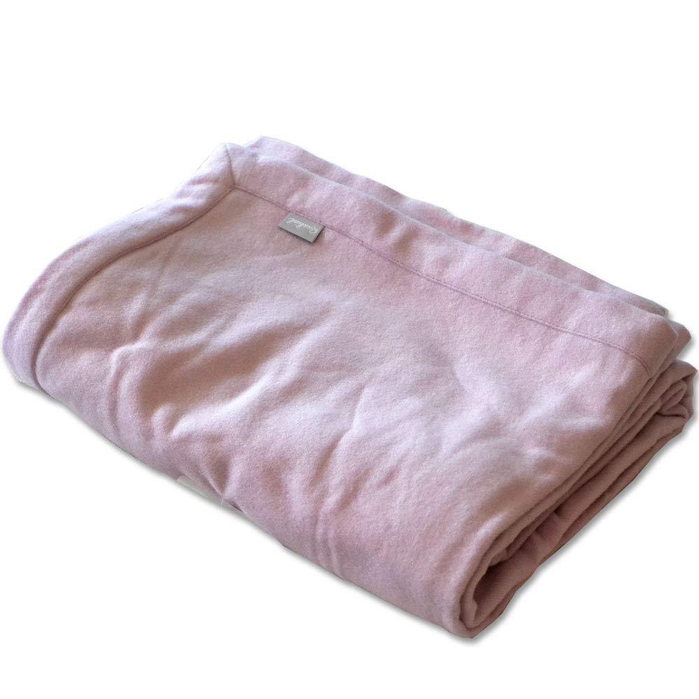 西川産業 日本製 ウォッシャブル ウール毛布 シングル 140×200cm (ピンク) B07MGZVCYD ピンク