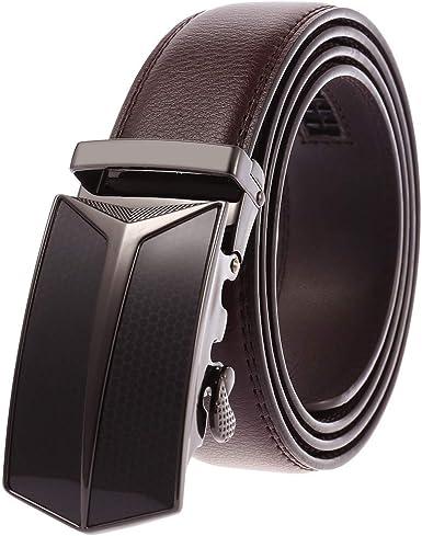 Premium Quality Elegant Gift Box Mens Genuine Leather Dress Belts