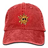 Sunflowers Sunglasses Womens Men' Fashion New Cowboys Hipster Adjustable Cap For Gift