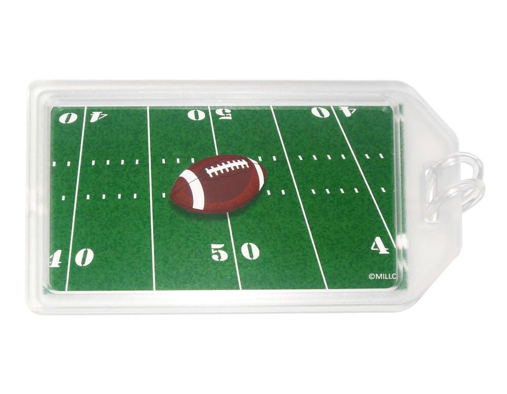 Amazon.com: Fútbol Luggage Tag – Conjunto de 2, Verde ...