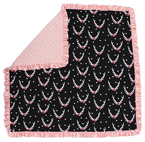 Pink Flower Baby Bedding - 2