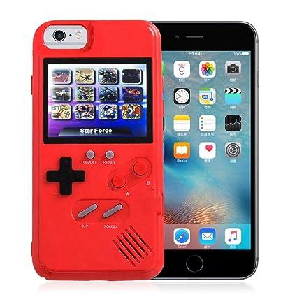 86ab2eebe96 LayOPO Gameboy Funda para iPhone, Funda de Silicona Suave Diseño de Funda 3D  para iPhone 6 ...