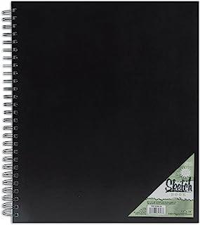 Pro-Art 11-Inch by 14-Inch Spiral Bound Sketch Book, 80-Sheet