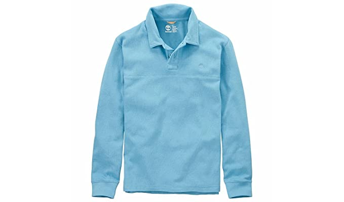 438039da2 Timberland Men s Fort River Long Sleeve Polo Shirt at Amazon Men s ...