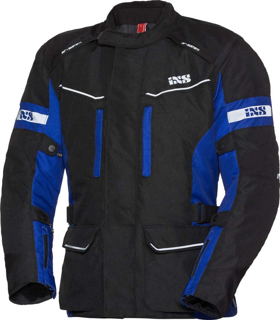 IXS EVANS-ST Herren Motorrad Textiljacke Touring schwarz fluogelb
